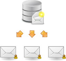 kopie emailu
